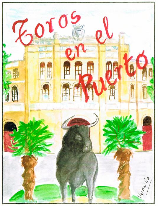 Clasico-Cartel-de-anuncios-de-Corrida-de-Toros-en-el-Puerto-de-Santa-Maria